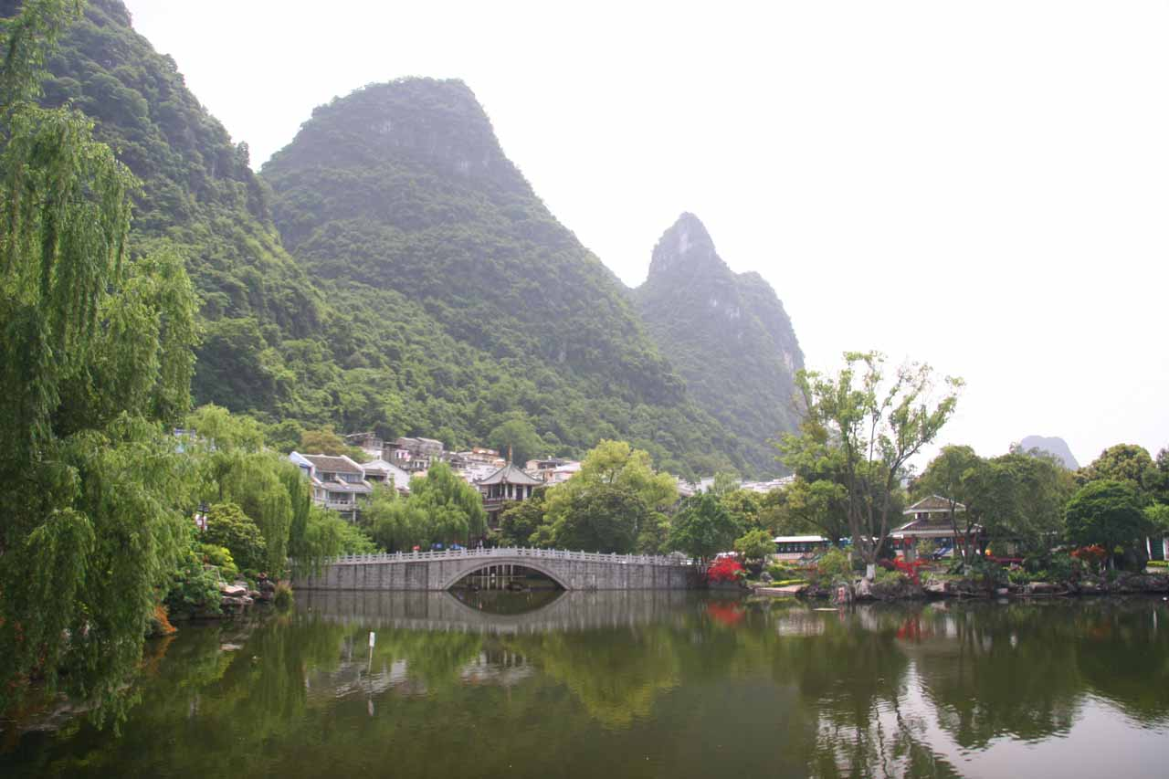 Some scenery at Yangshuo