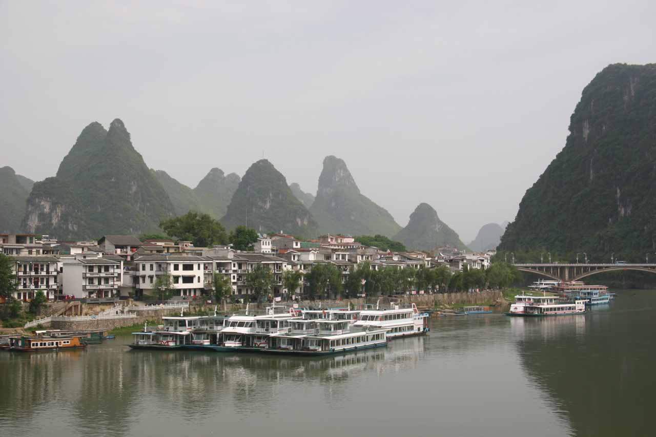 Returning to the small city of Yangshuo