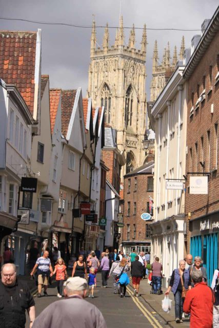 York_184_08152014 - Prior to visiting the Yorkshire Dales, we had spent some time in the charming former Viking town of York, featuring the impressive York Minster which seemed to dominate the skyline and attention