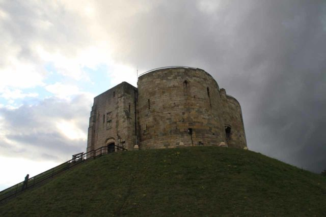 York_308_08152014 - Another intriguing landmark in the city of York (southeast of the Yorkshire Dales) was Clifford's Tower