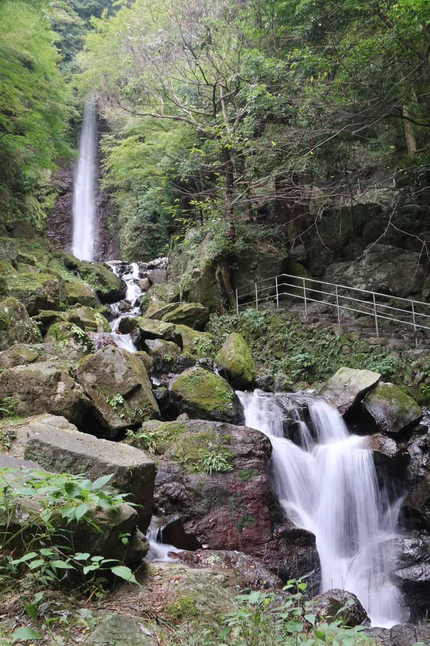 The Yoro Waterfall or the Waterfall of Yoro