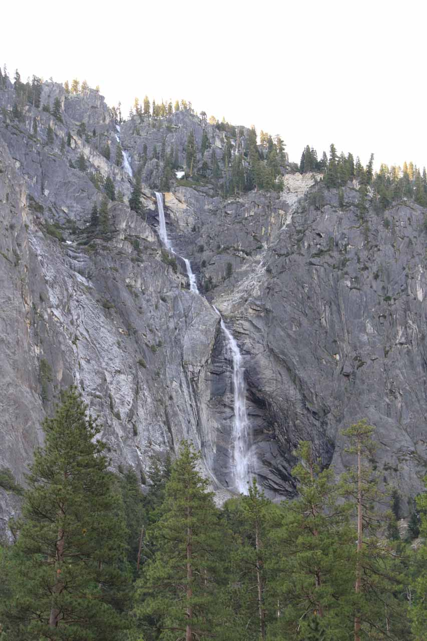 This was a more recent look at Sentinel Falls from the Four Mile Trailhead in June 2011
