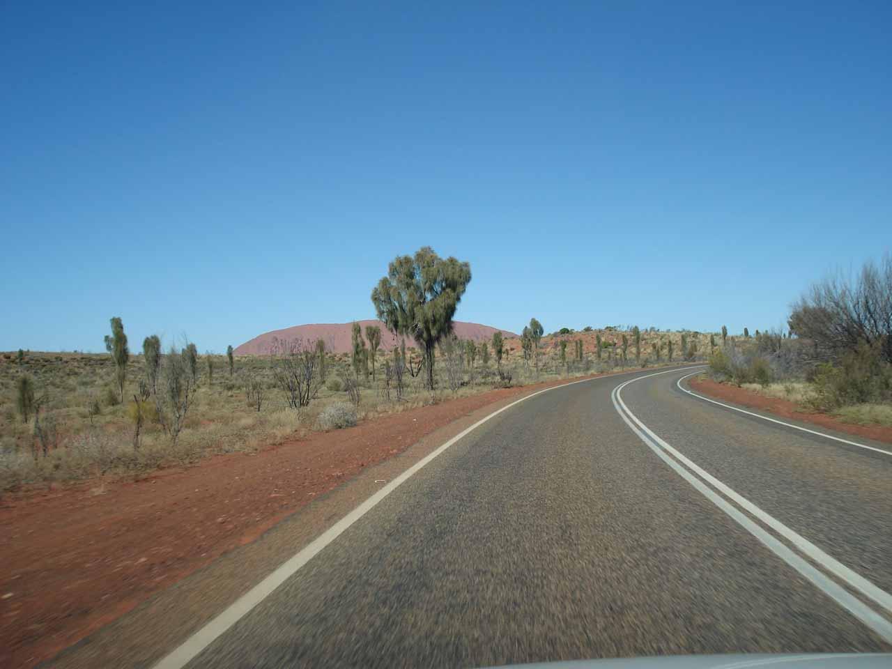 On the road to Kata Tjuta