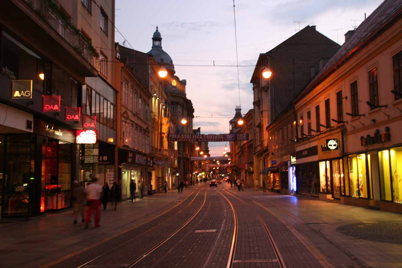Navigating the one-way streets of Zagreb