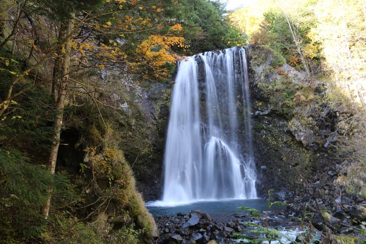 The Zengoro Waterfall