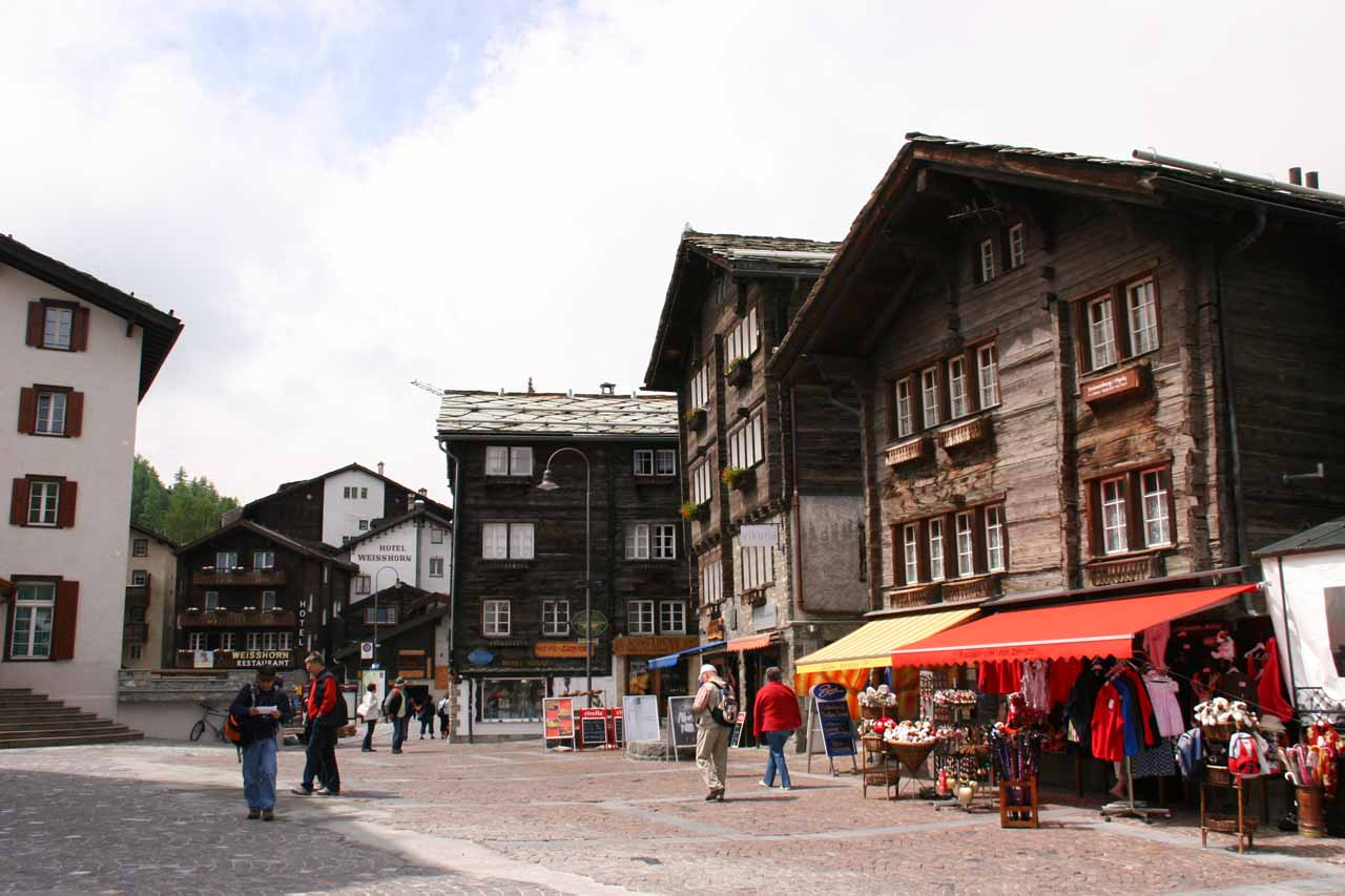 Zermatt and horse carriage