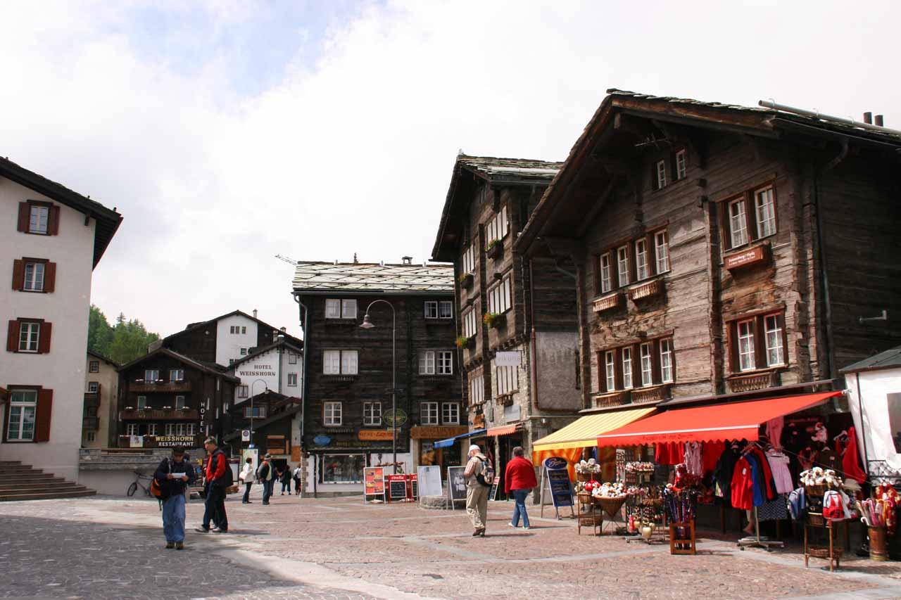 Zermatt and horse carriage