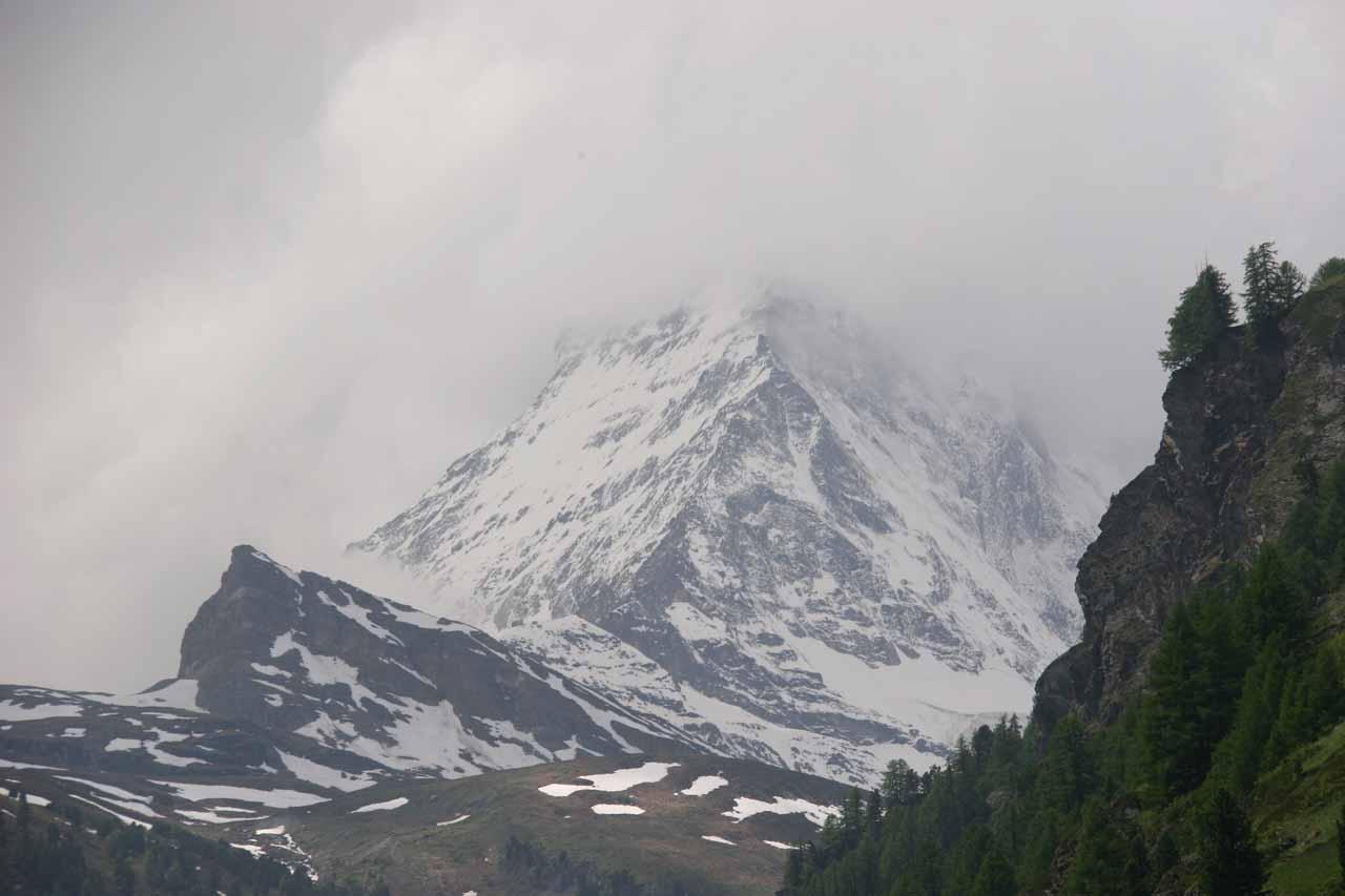 As much as the Matterhorn would show of itself