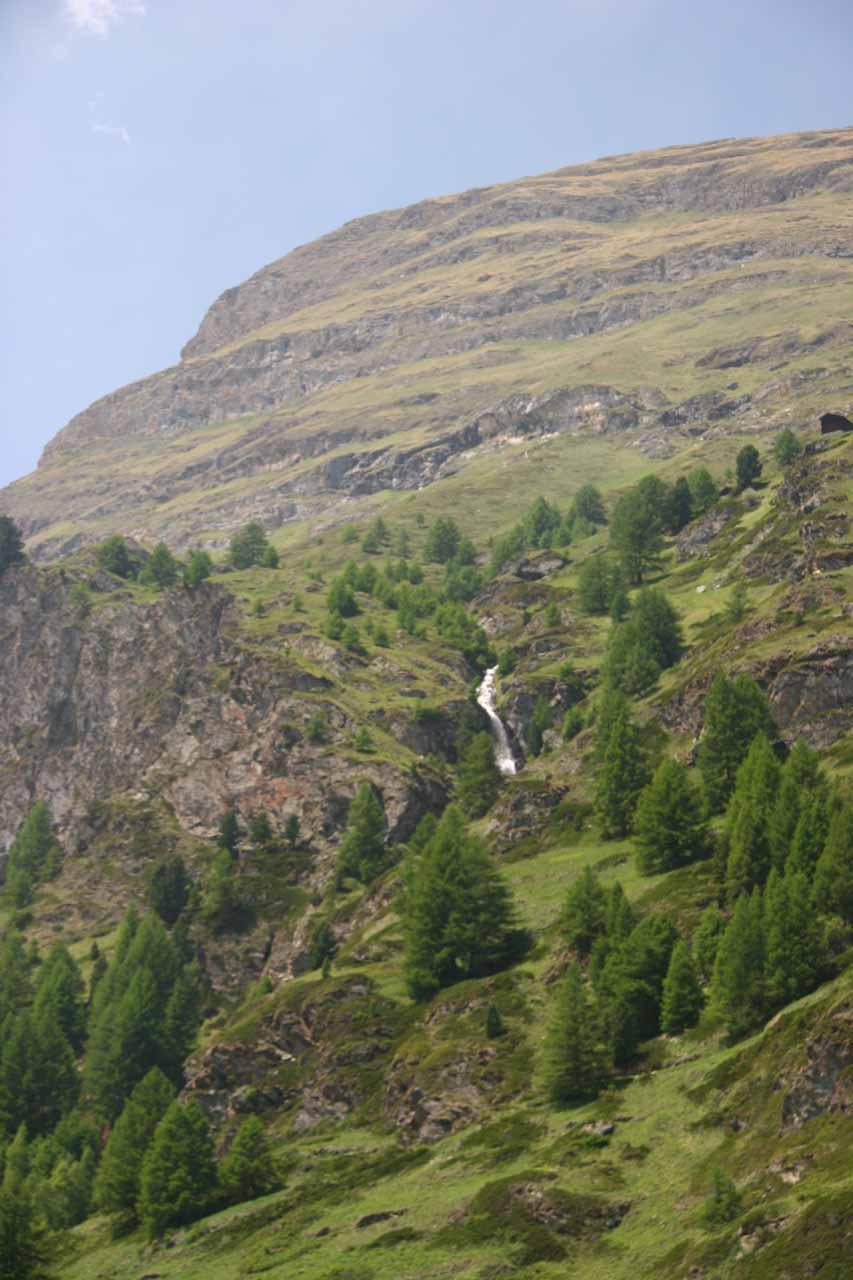 A cascade near the Matterhorn
