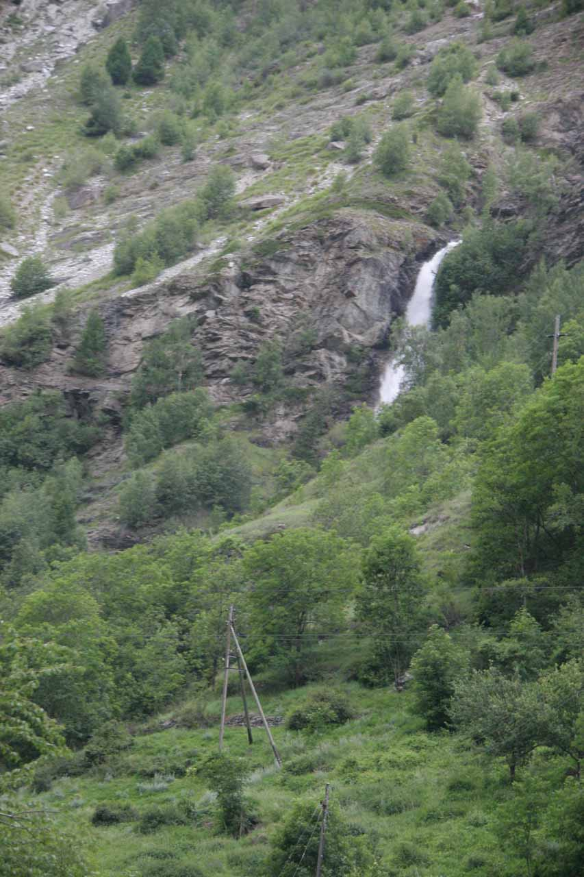 And another cascade on the return train ride to Visp