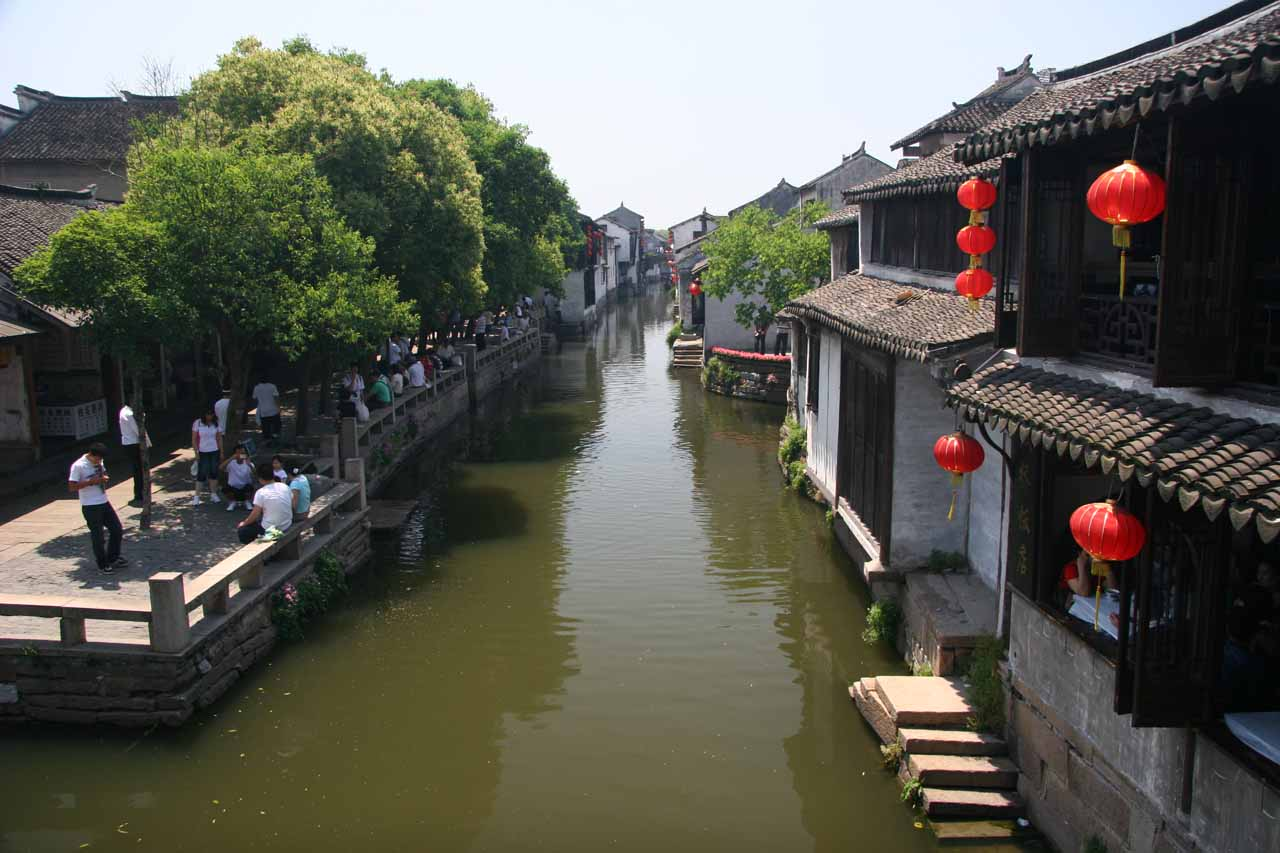 The canals of Zhouzhuang