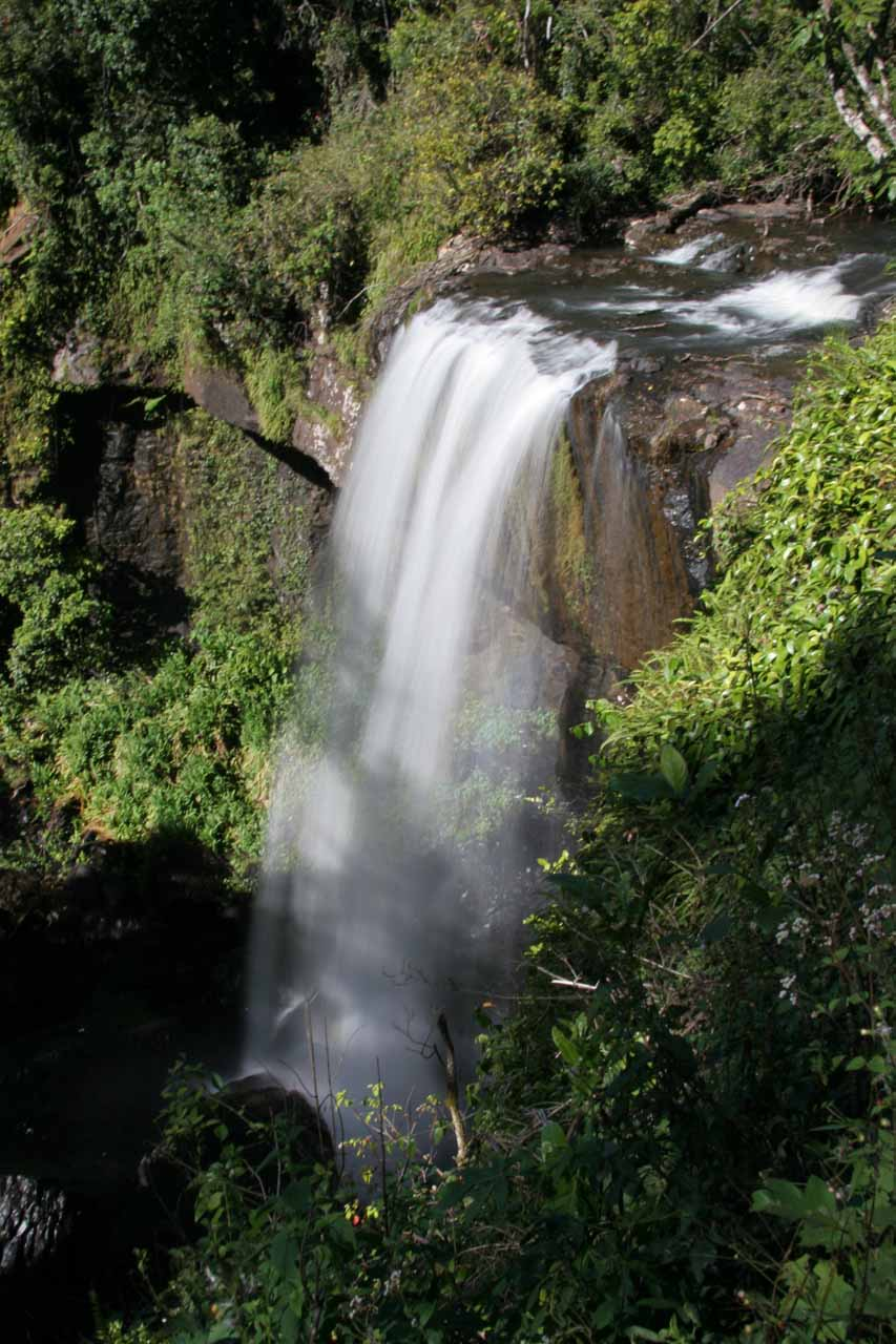 Zillie Falls was the nearest waterfall to Ellinjaa Falls along the Waterfall Circuit in the Atherton Tablelands
