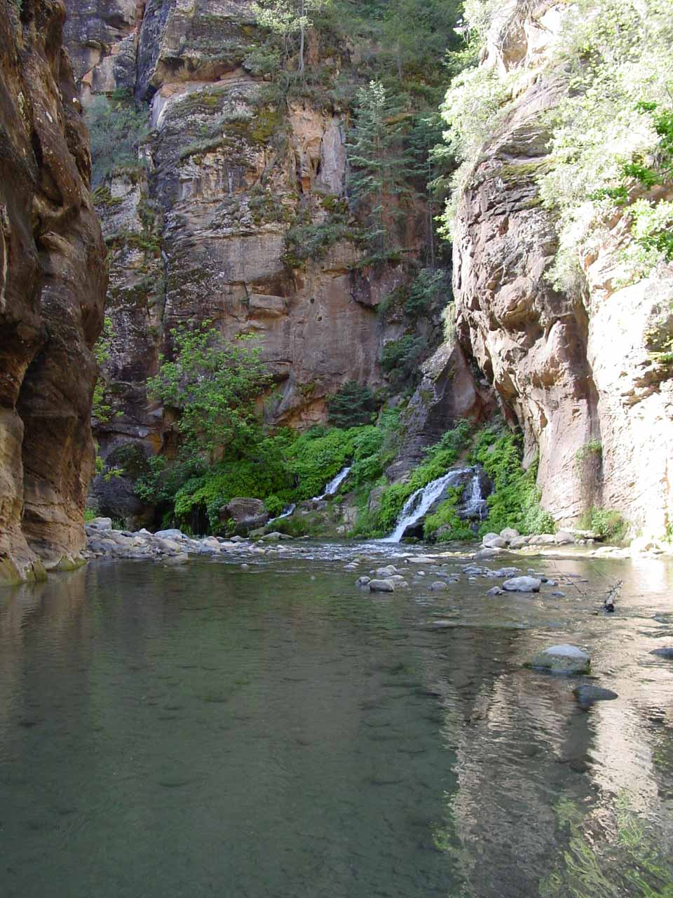 Approaching Big Spring in the Narrows