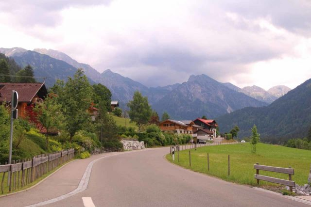 Zipfielsbach_Waterfalls_102_06242018 - The Hintersteinerstrasse continued beyond the town of Hinterstein deeper into the Bavarian Alps towards the head of the valley