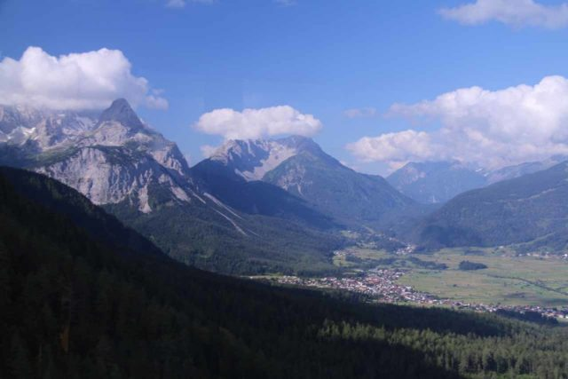 Zugspitze_014_06252018 - About an hour's drive to the east of Fussen were the cable cars to the summit of the Zugspitze, Germany's highest peak, yielding mindblowing views towards Garmisch-Partenkirchen and Ehrwald, Austria