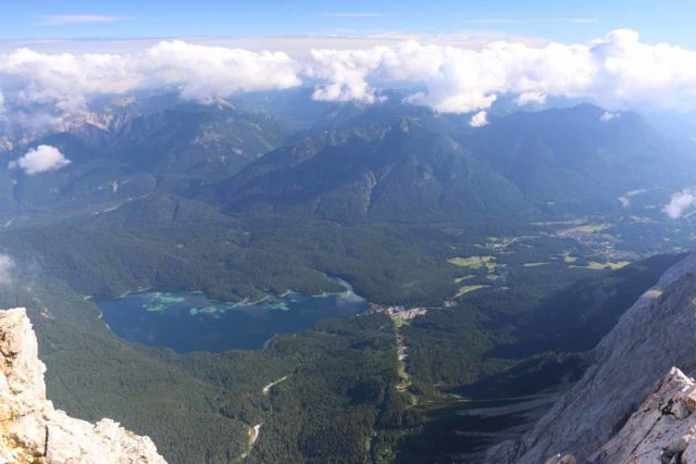 Zugspitze_037_06252018 - About an hour's drive to the east of Fussen were the cable cars to the summit of the Zugspitze, Germany's highest peak, yielding mindblowing views towards Garmisch-Partenkirchen and Ehrwald, Austria