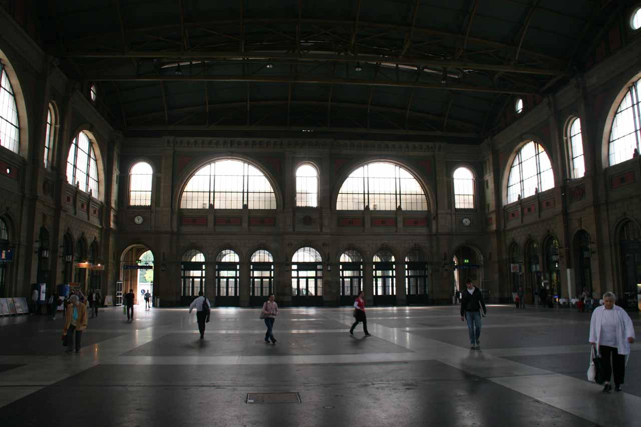 The Zurich Central Station