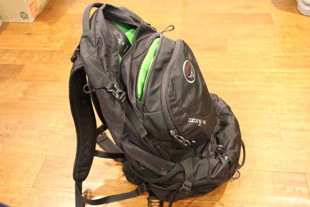 The Osprey Ozone 46 backpack was what I used for day hiking and international travel prior to the Osprey Manta 34