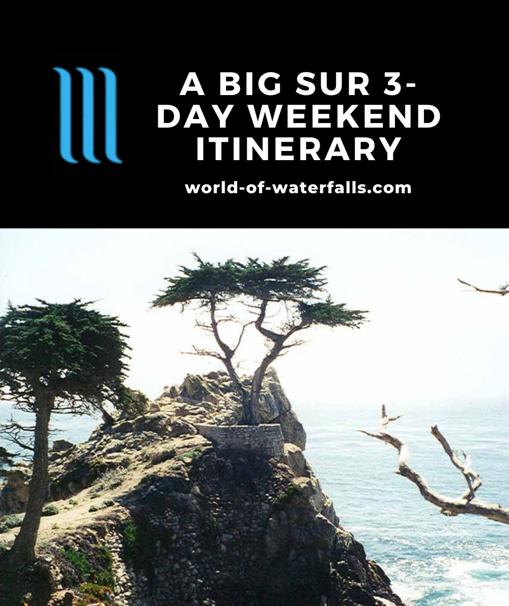 Big Sur 3-Day Weekend Itinerary