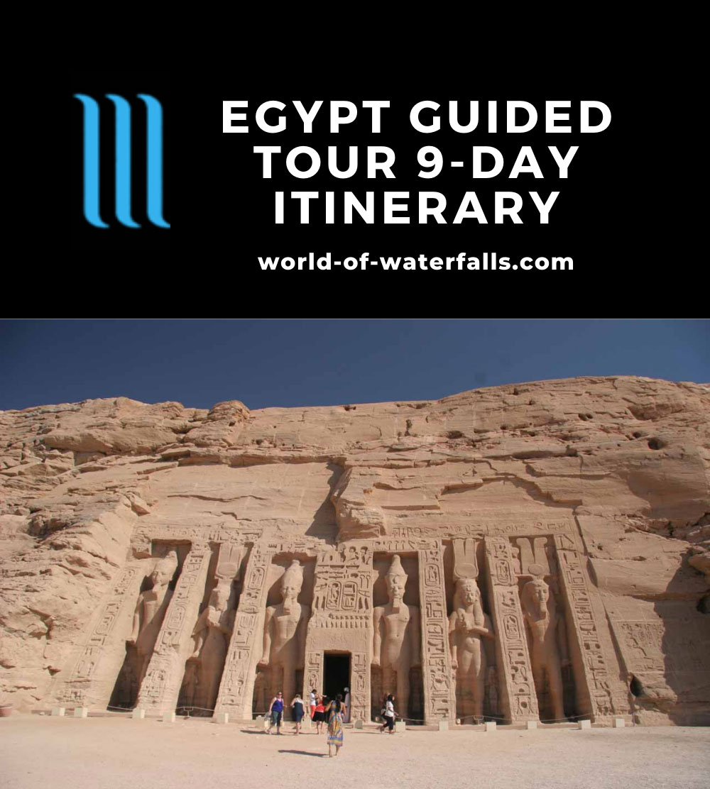 Egypt Guided Tour 9-Day Itinerary