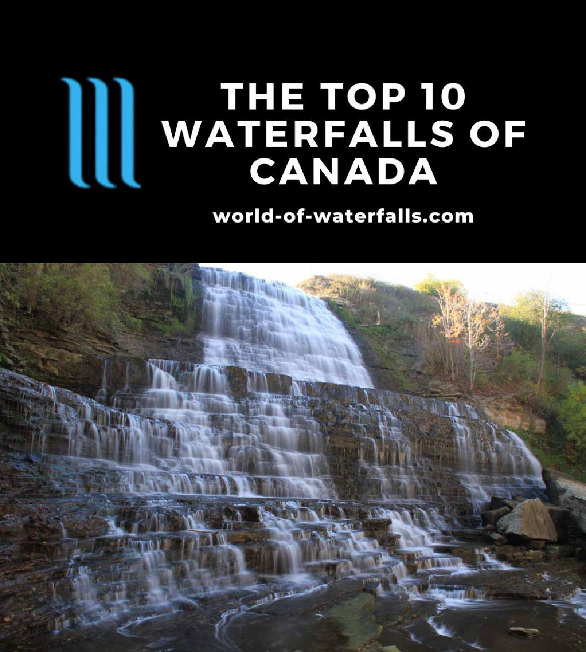 The Top 10 Waterfalls of Canada
