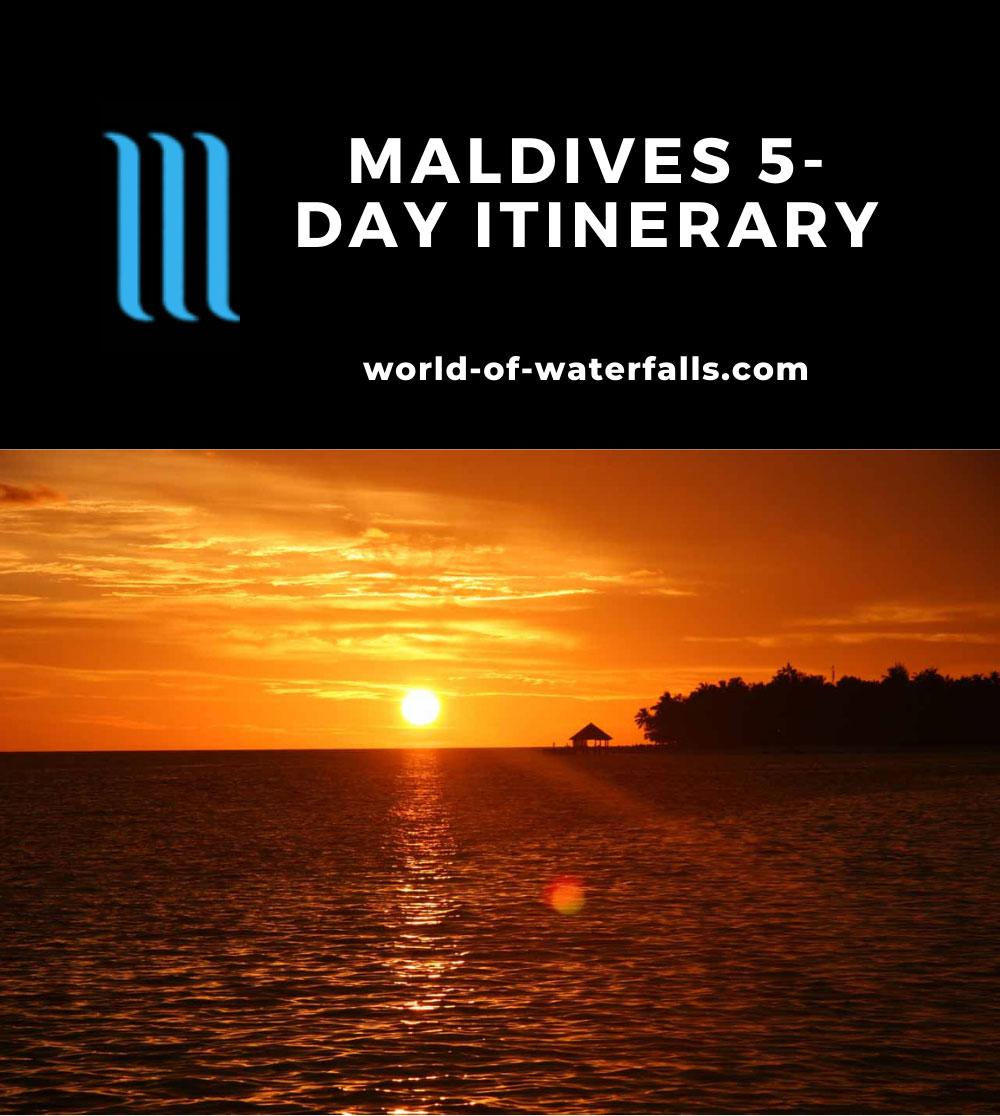 Maldives 5-Day Itinerary