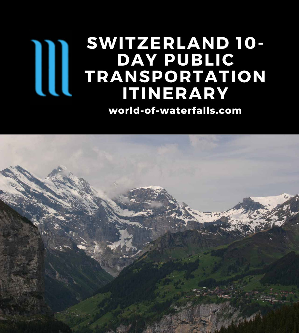 Switzerland 10-Day Public Transportation Itinerary