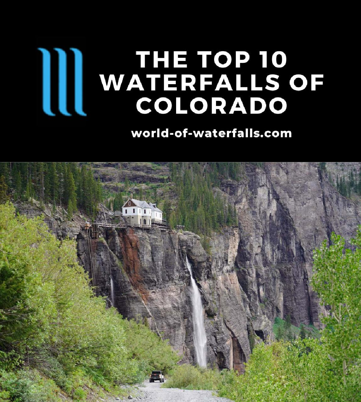 The Top 10 Waterfalls of Colorado