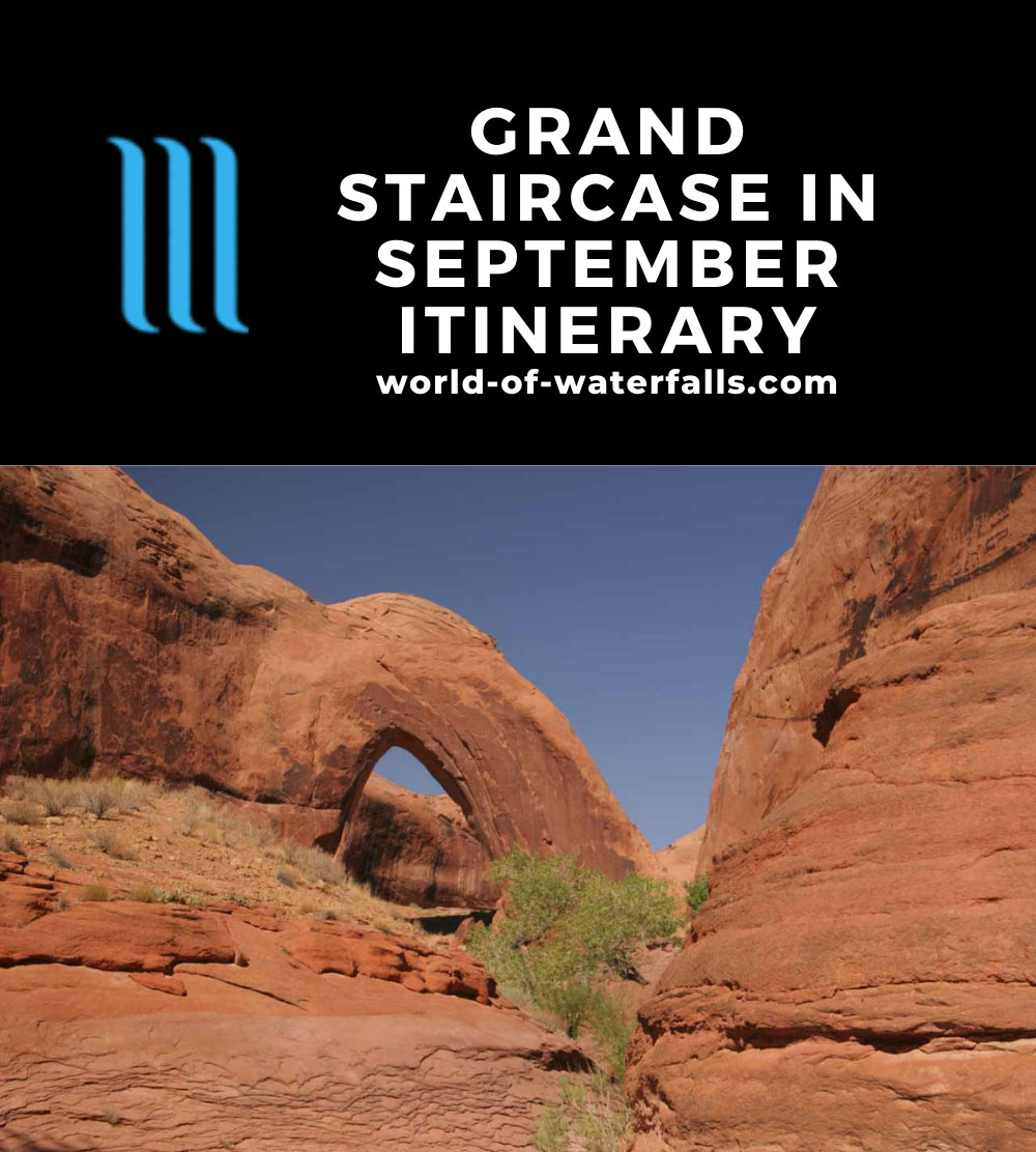 Grand Staircase in September Itinerary