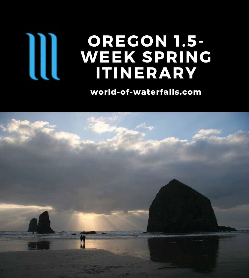 Oregon 1.5-Week Spring Itinerary