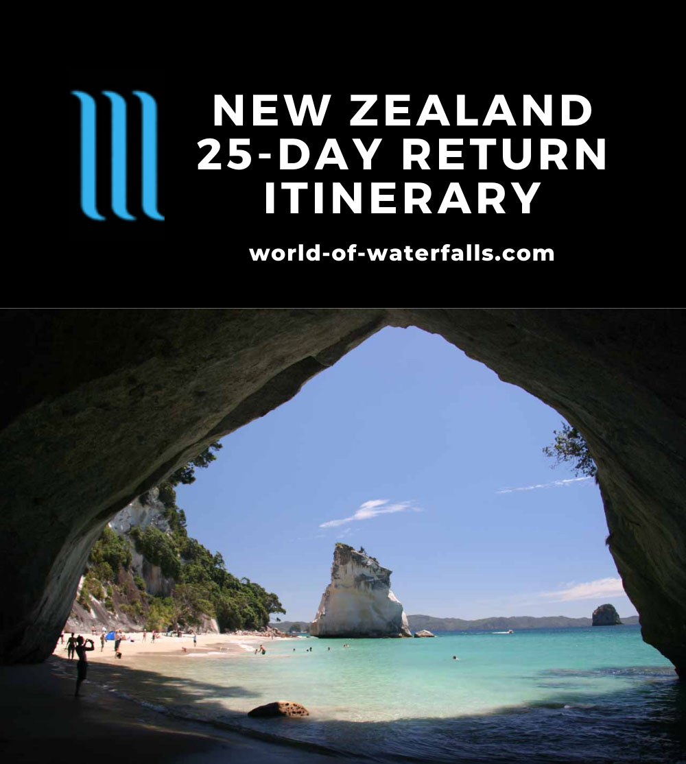 New Zealand 25-Day Return Itinerary