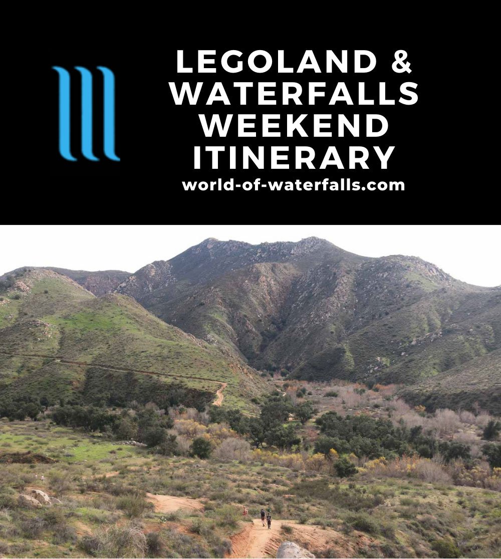 Legoland and Waterfalls Weekend Itinerary
