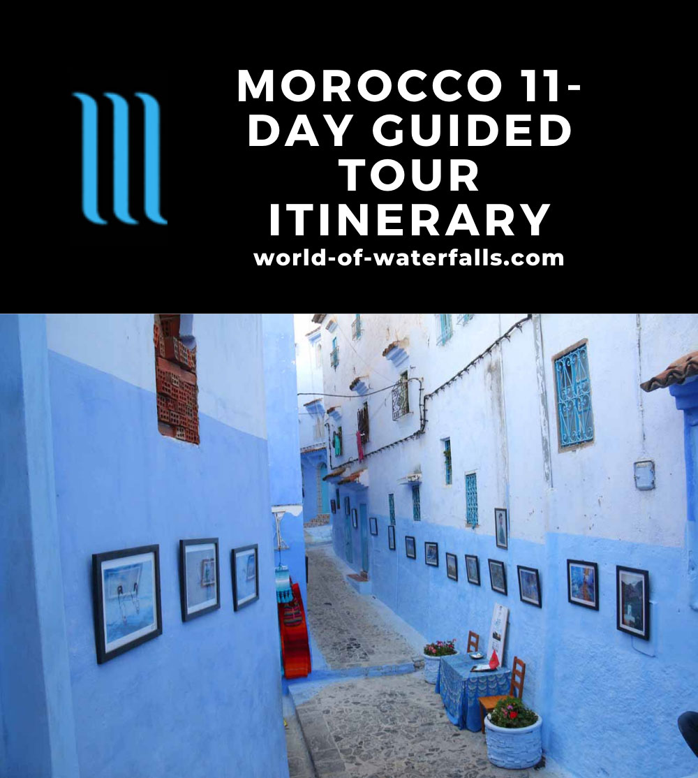 Morocco 11-Day Guided Tour Itinerary