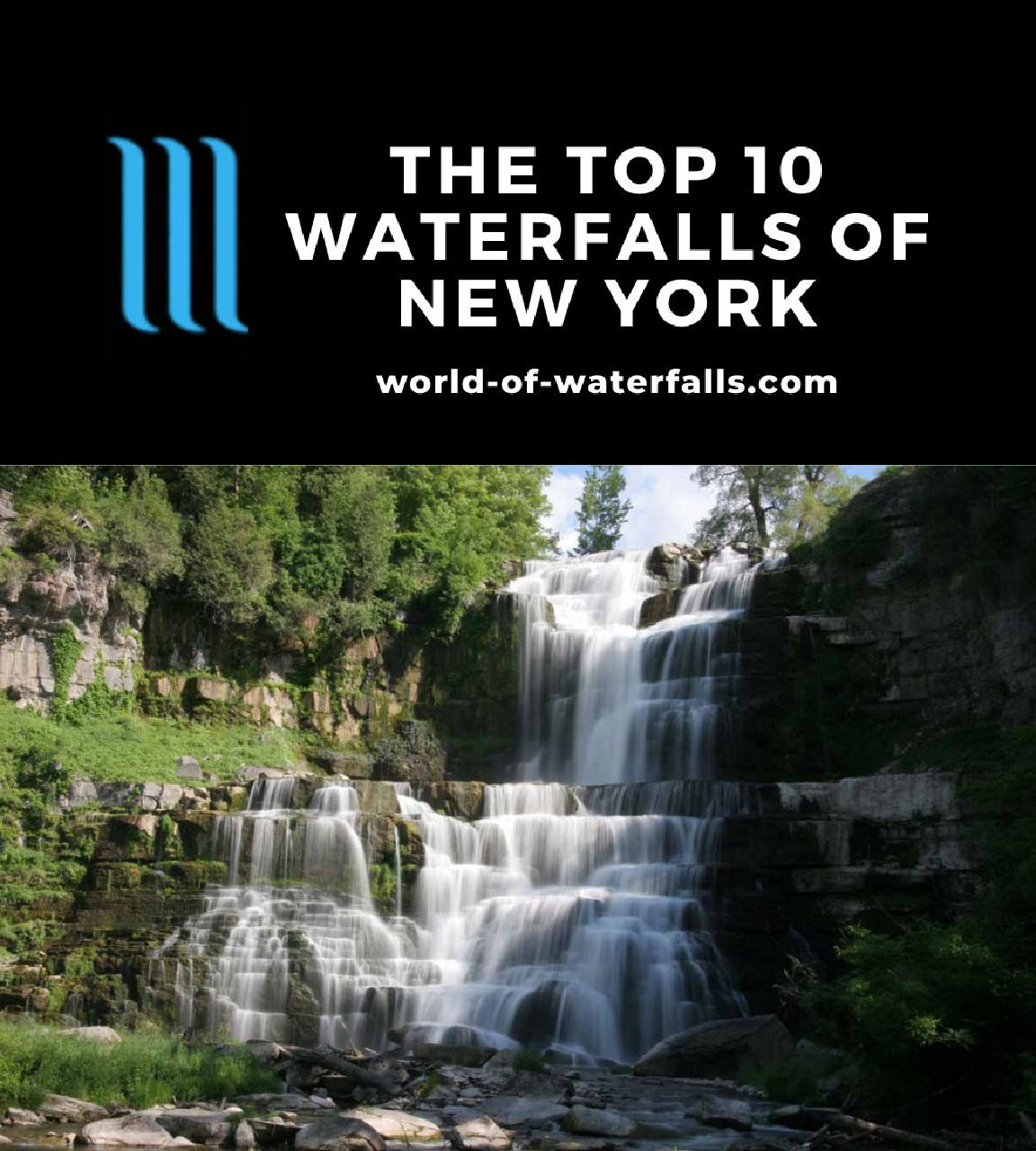 The Top 10 Waterfalls of New York