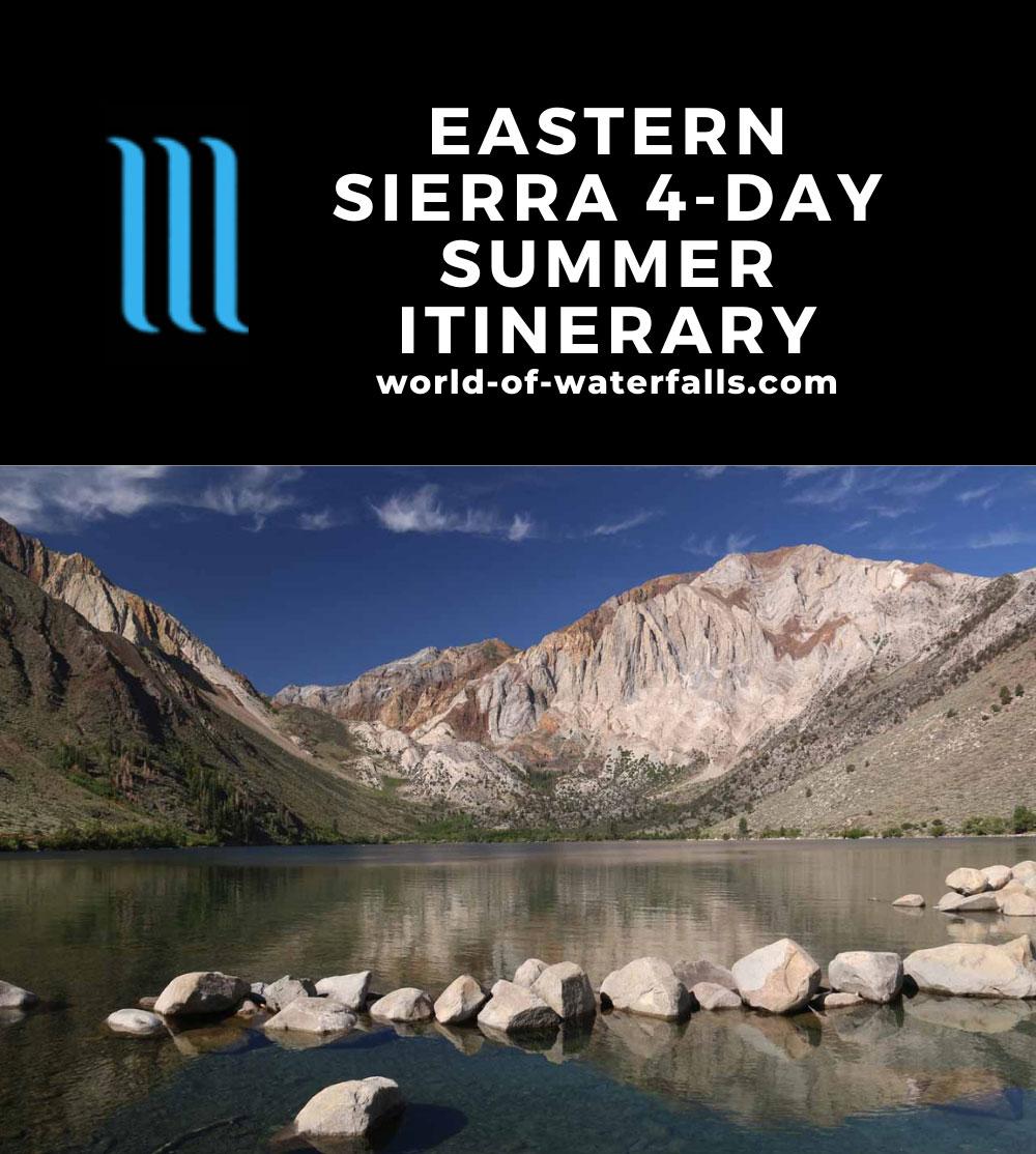 Eastern Sierra 4-Day Summer Itinerary