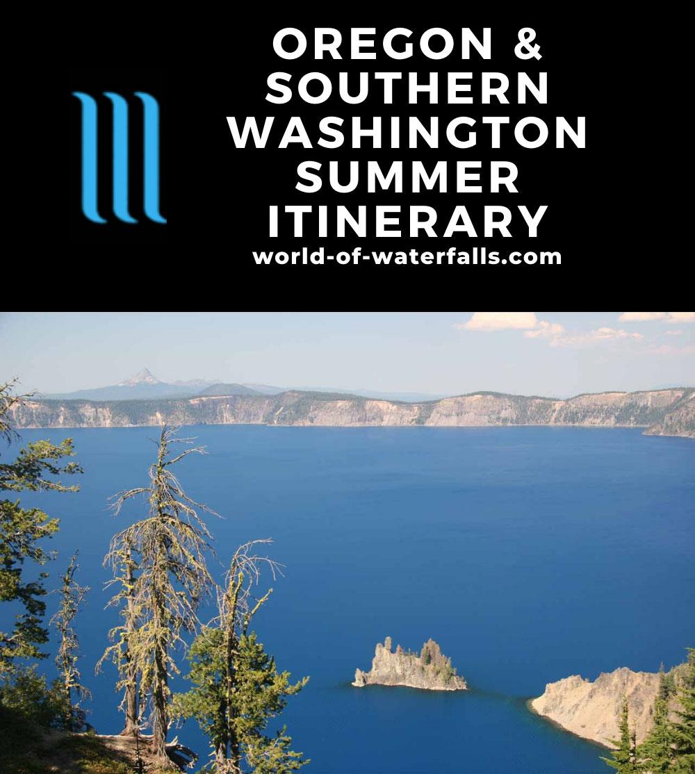 Oregon and Southern Washington Summer Itinerary