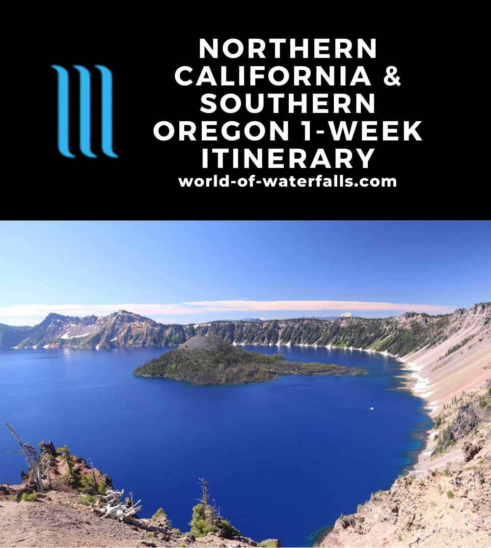 Northern California and Southern Oregon 1-Week Itinerary