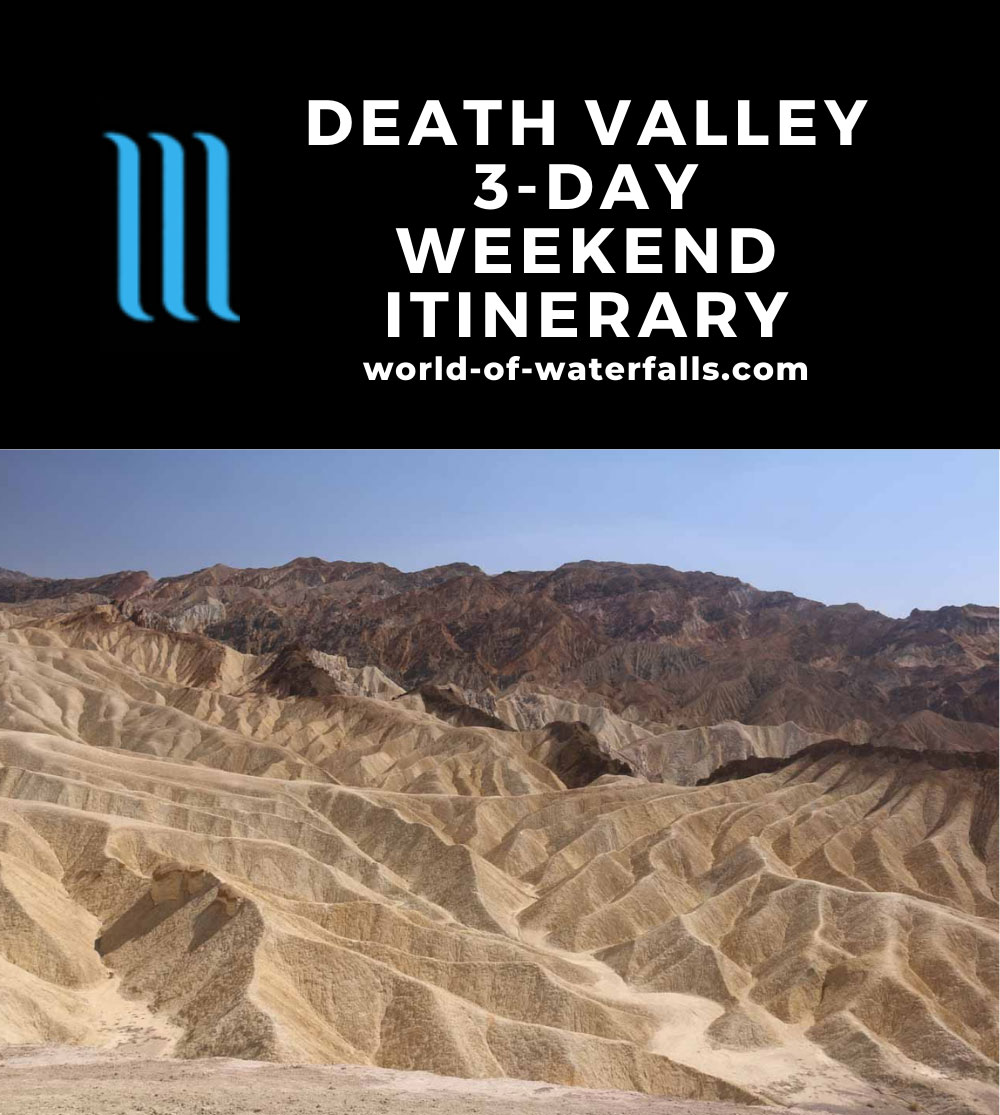 Death Valley 3-Day Weekend Itinerary