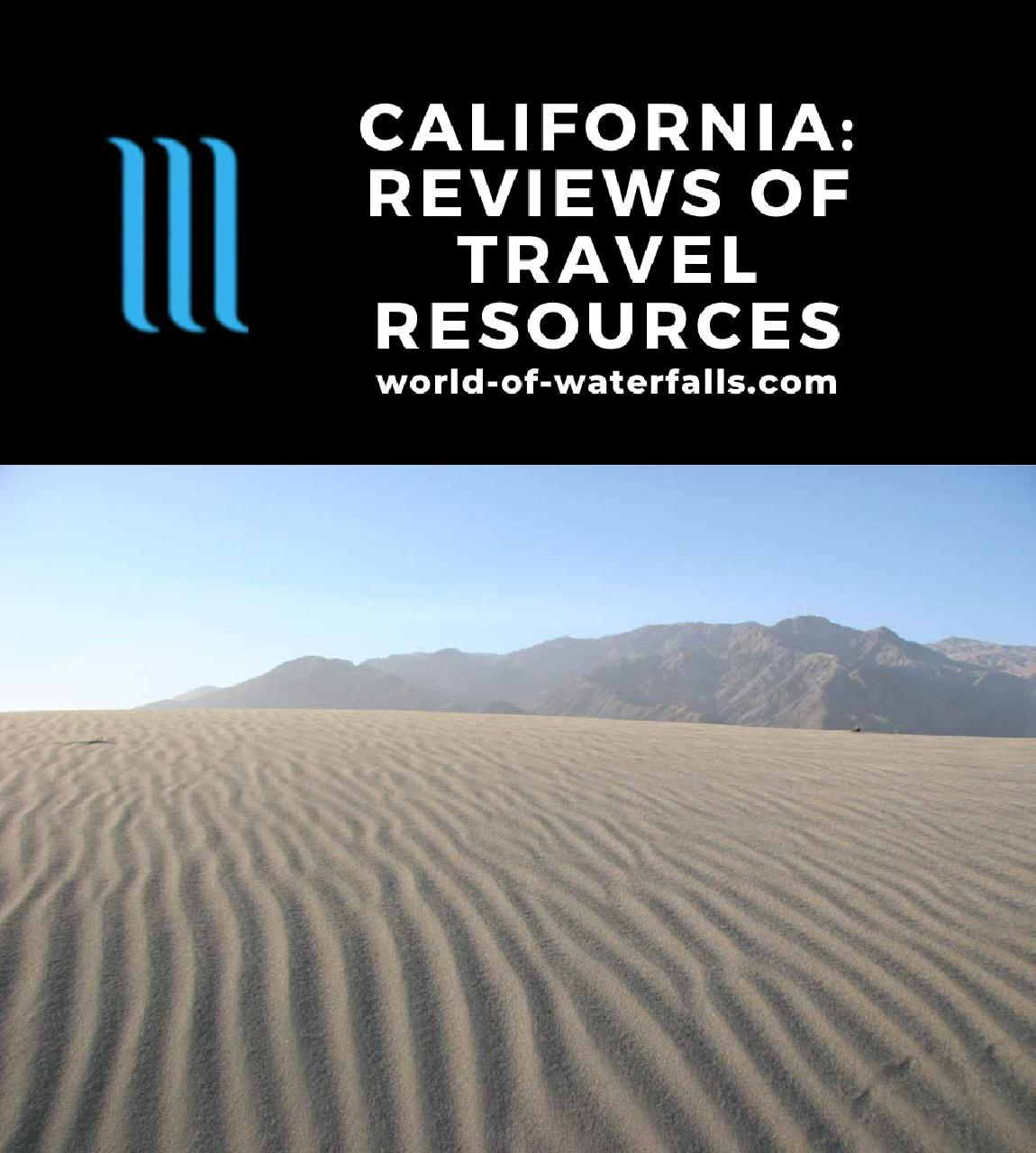 California: Reviews of Travel Resources