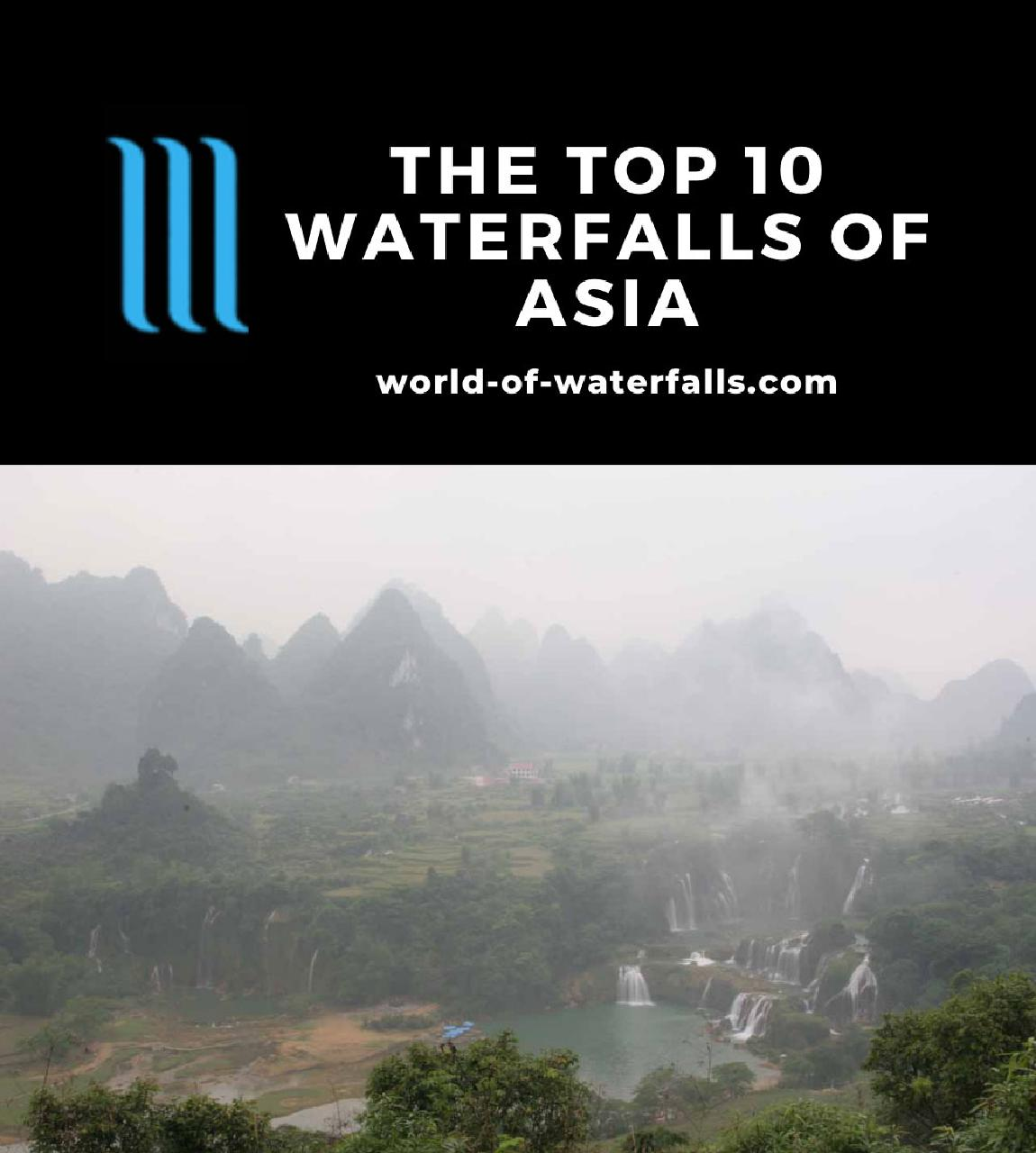The Top 10 Waterfalls of Asia