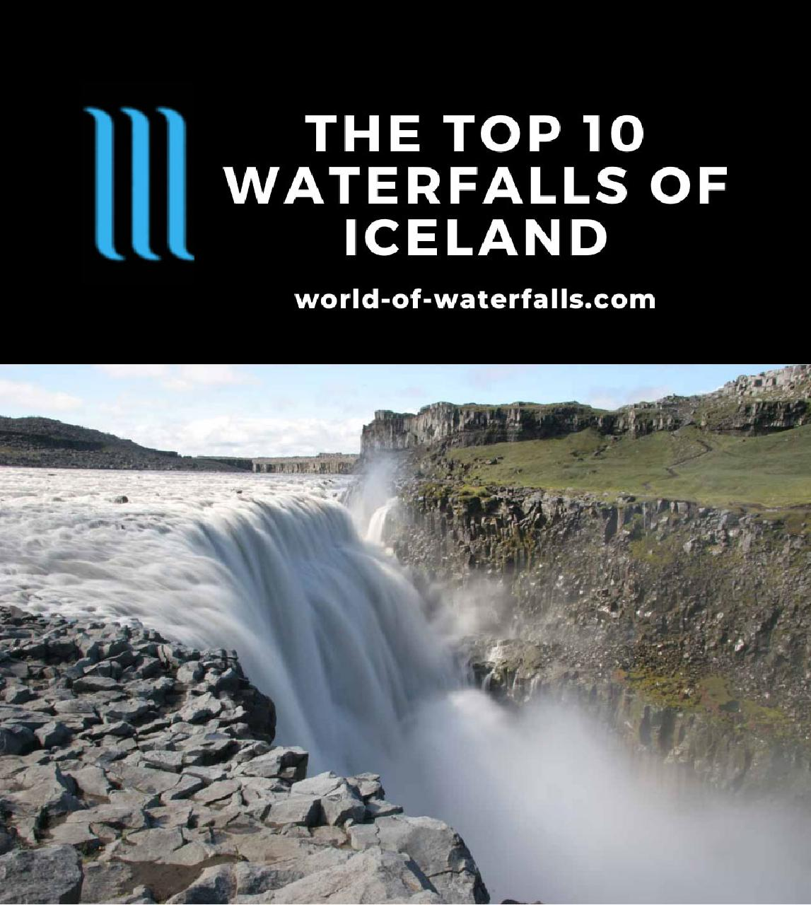 The Top 10 Waterfalls of Iceland