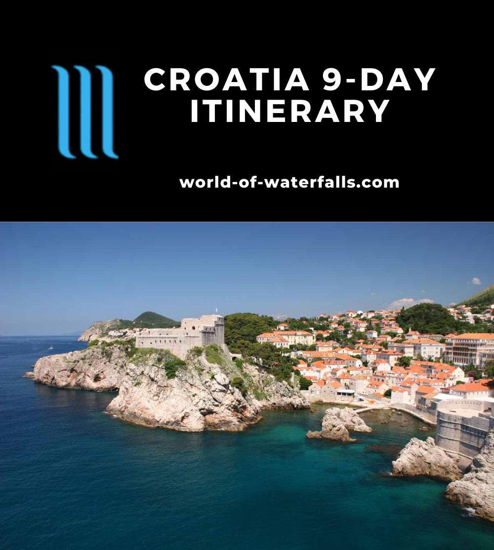 Croatia 9-Day Itinerary