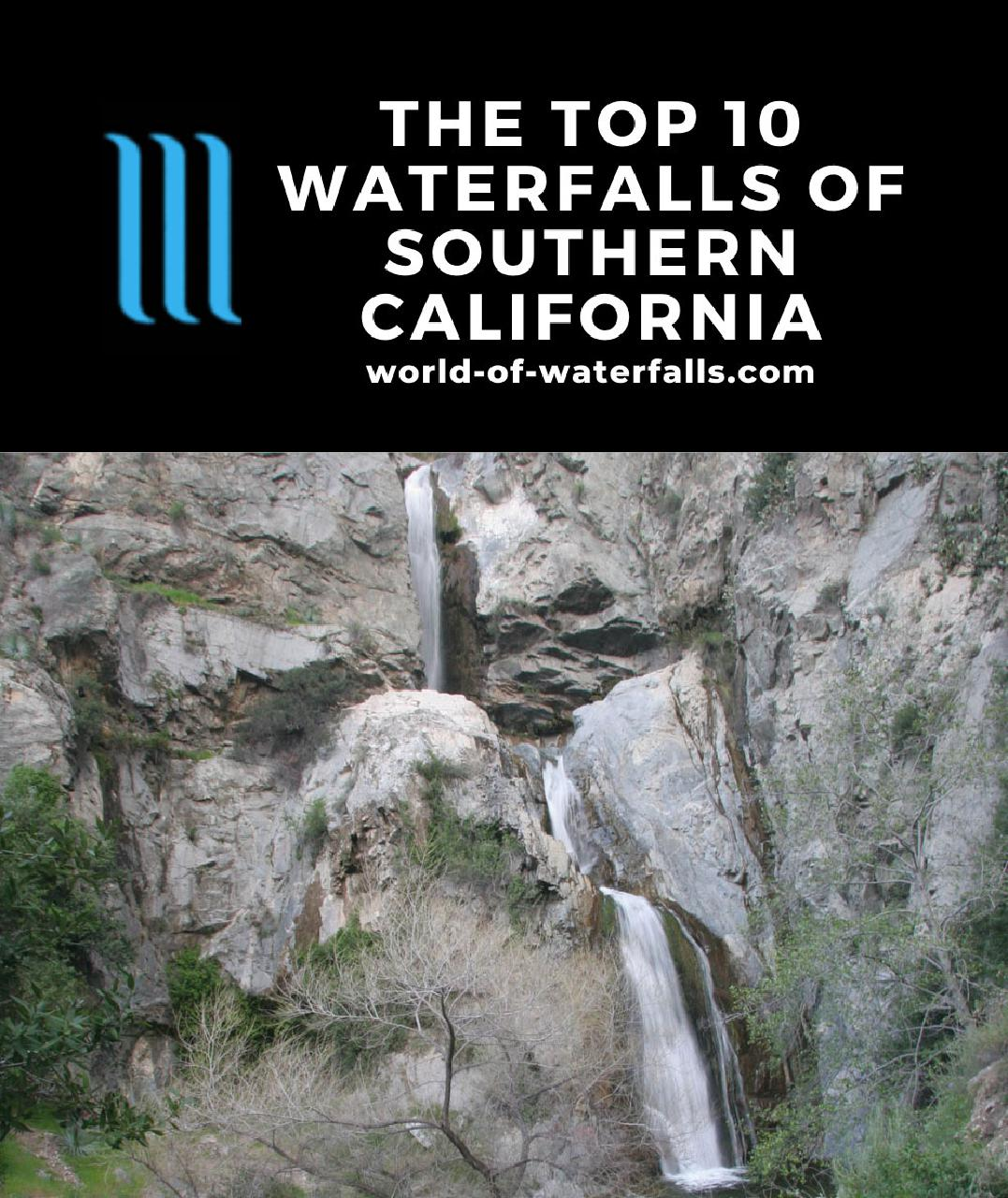 The Top 10 Waterfalls of Southern California