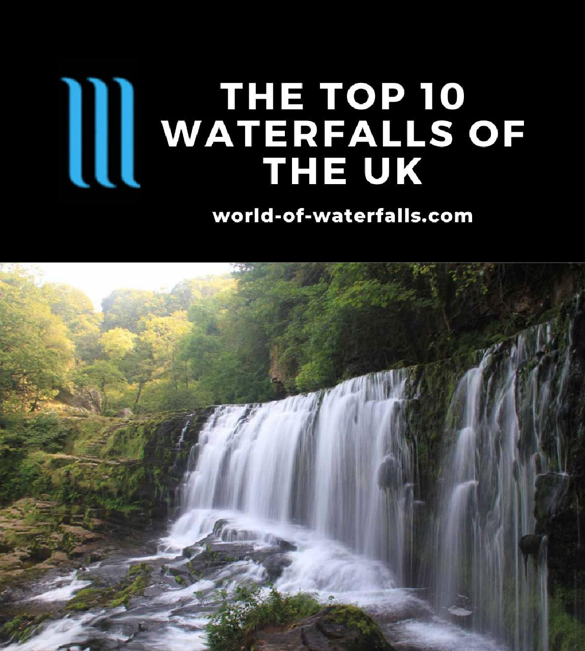 The Top 10 Waterfalls of the UK