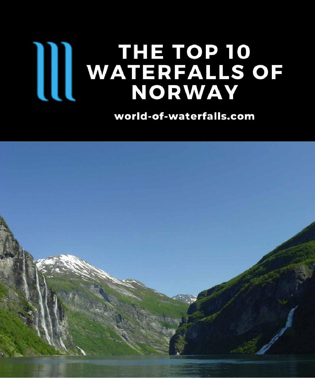 The Top 10 Waterfalls of Norway
