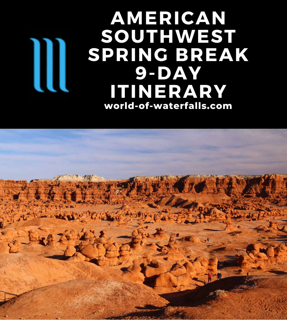 American Southwest Spring Break 9-Day Itinerary