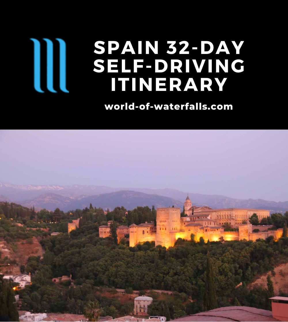 Spain 32-Day Self-Driving Itinerary