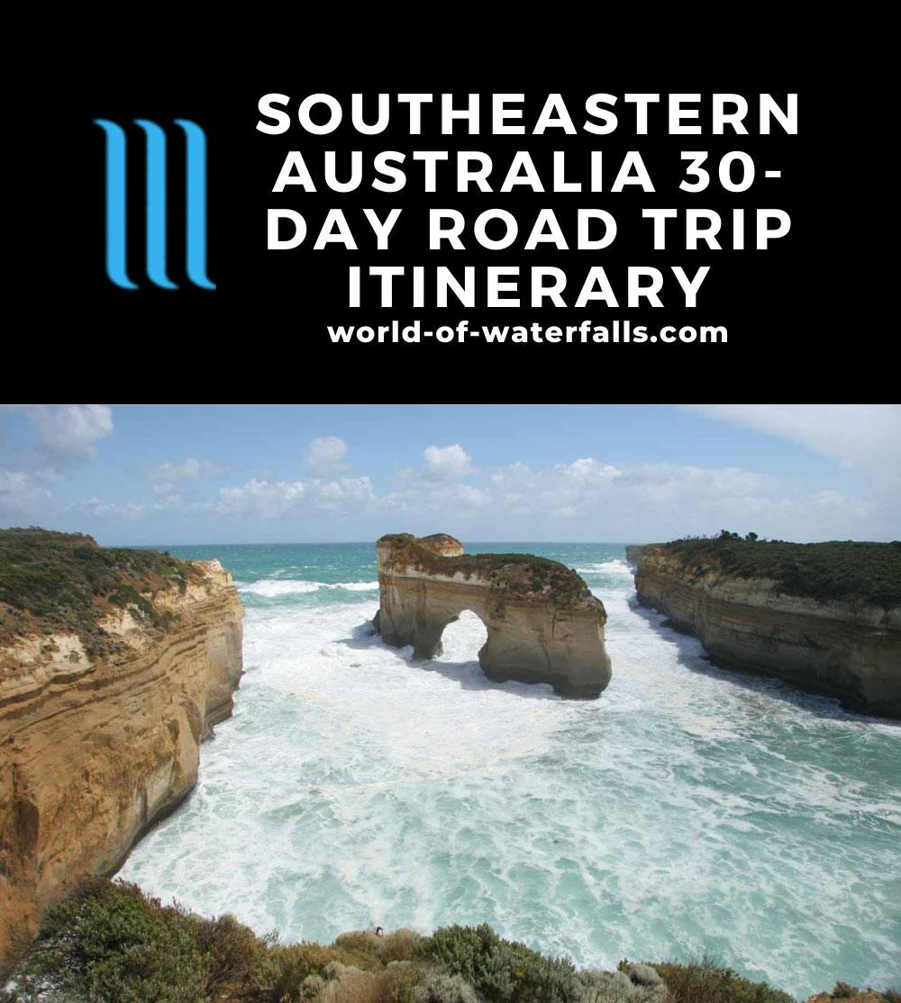 Southeastern Australia 30-day Road Trip Itinerary