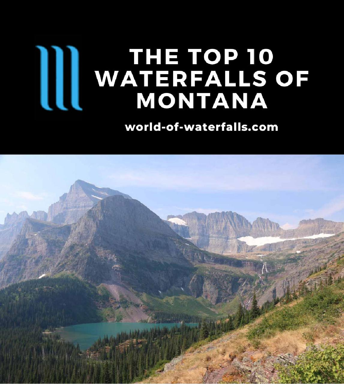 The Top 10 Waterfalls of Montana