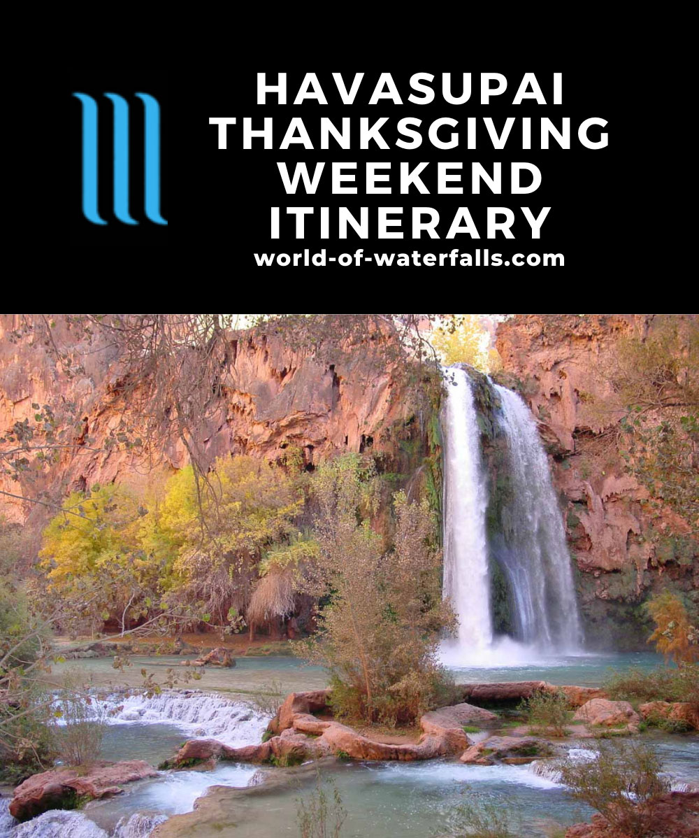 Havasupai Thanksgiving Weekend Itinerary